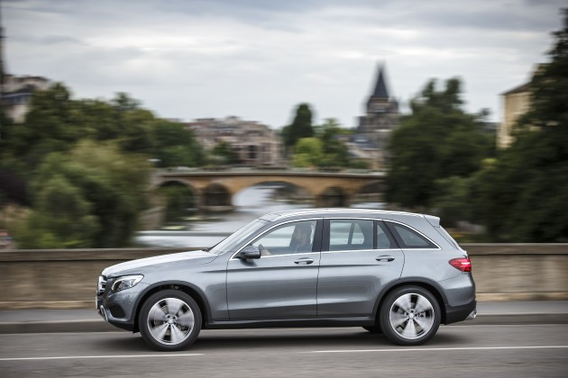 Mercedes-Benz Fahrveranstaltung GLC; Elsass 2015