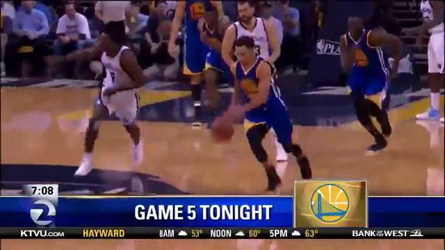 Golden State Warriors Home Court >> KCBA Fox 35 – Monterey / Salinas » Warriors In Game 5 Tonight