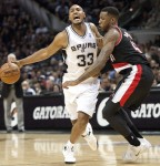 Heat y Spurs comienzan arrolladores ante Nets y Trail Blazers