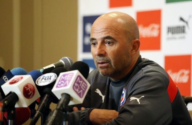 La falta de gol de la selección de Chile no preocupa a Jorge Sampaoli