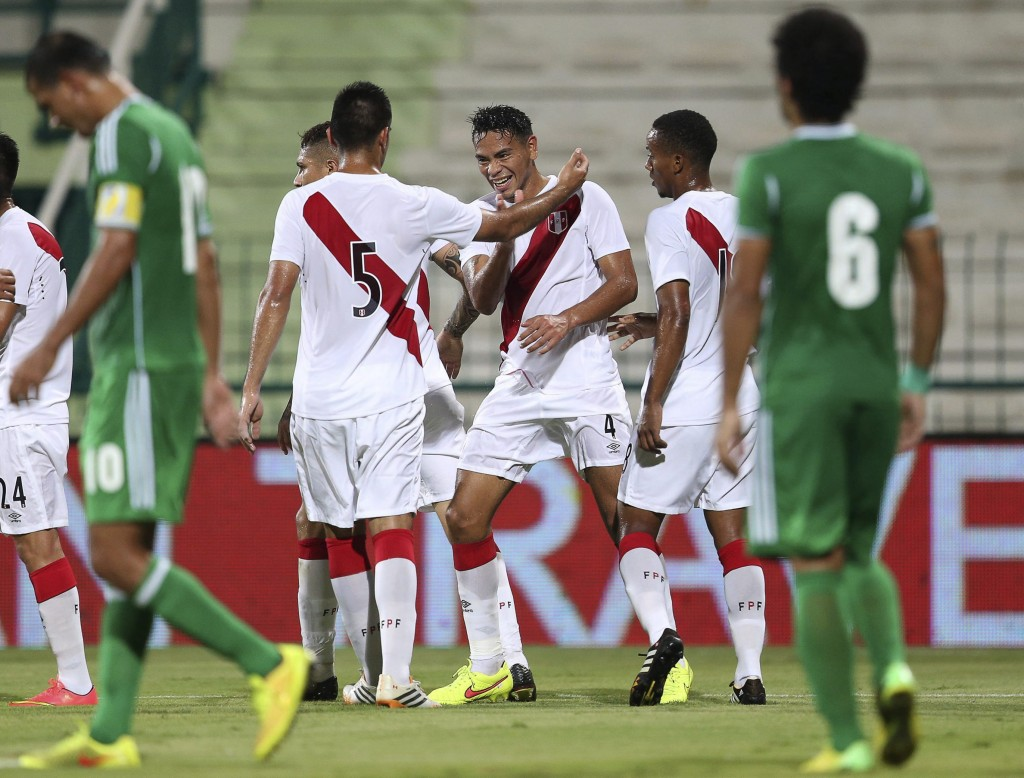La selección de Perú completó su primero entrenamiento antes de ...