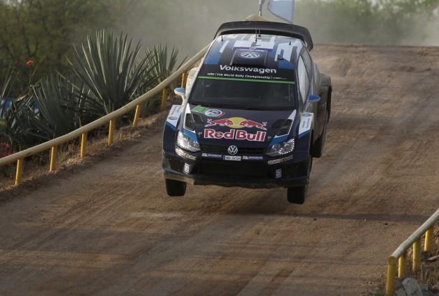 El francés Ogier se mantiene como líder del Rally de Guanajuato