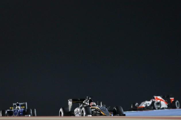 El mexicano Sergio Pérez (Force India), satisfecho por ser octavo en Baréin