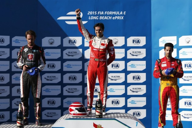 Nelson Piquet Jr. gana el ePrix de Fórmula E de Long Beach