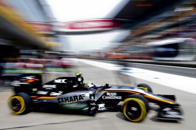 "Sergio Pérez: ""Aunque Force India mejoró desde Sepang, no pudimos puntuar"""