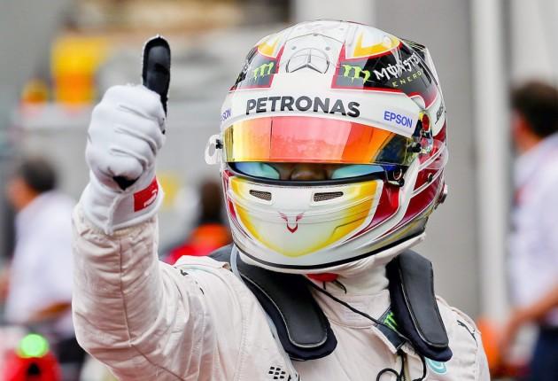 Hamilton logra primera 'pole' en Mónaco e impide tercera seguida de Rosberg