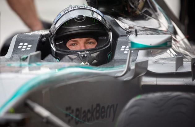 Ferrari parece una amenaza, fueron muy rápidos hoy, dice Rosberg