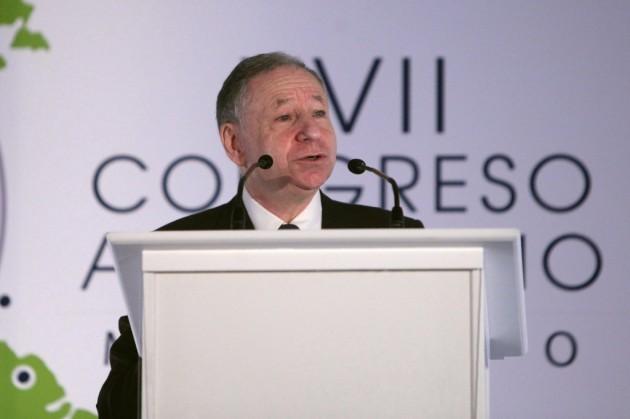 Todd destaca acciones de la FIA por seguridad vial en el Congreso Americano