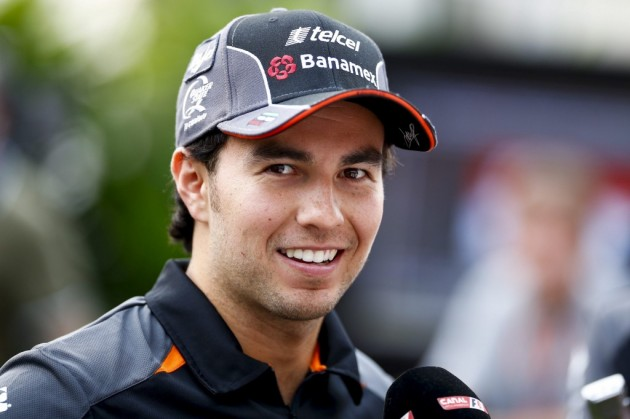 El mexicano Sergio Pérez renueva con el Sahara Force India
