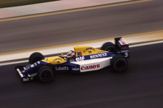 La emblemática curva 17 del circuito mexicano recibe nombre Nigel Mansell