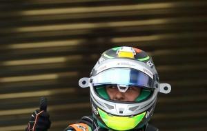 'Checo' Pérez logró en Rusia su quinto podio en Fórmula Uno