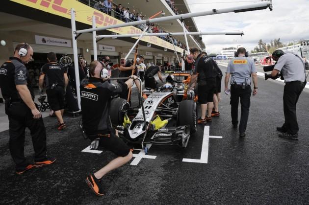 El empresario Carlos Slim califica de excelente el inicio del Gran Premio