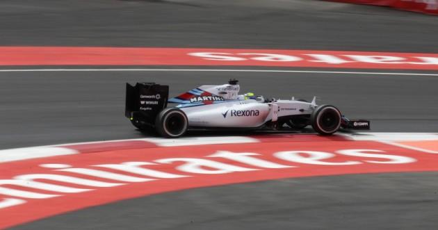 """El brasileño Massa dice que está en """"buena posición"""" para mañana"""
