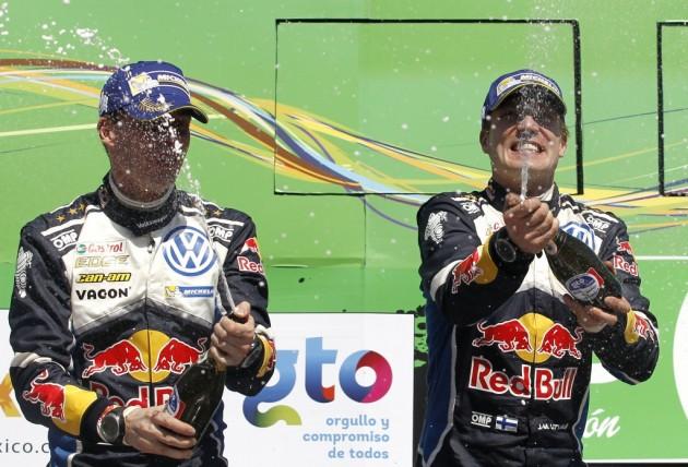 El finlandés Jari-Matti Latvala gana el Rally de México