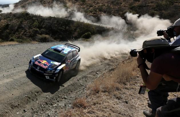 El finlandés Latvala se confirma como puntero del rally de México
