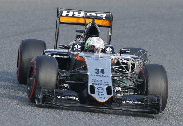El mexicano Alfonso Celis debutará en la Fórmula Uno en Sochi
