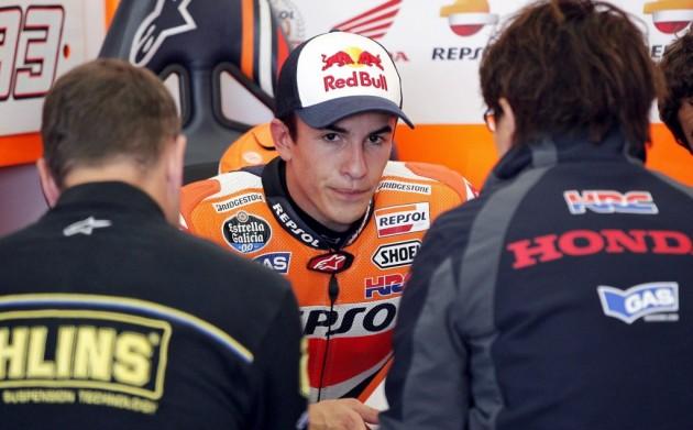 """Márquez:""""Este año estamos perdiendo en aceleraciones, veremos cómo se nos da"""""""