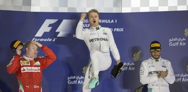 Rosberg, más líder del Mundial de Fórmula Uno tras ganar también en Baréin