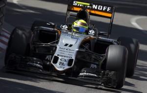 El mexicano Sergio Pérez (Force India) suma en Mónaco su sexto podio