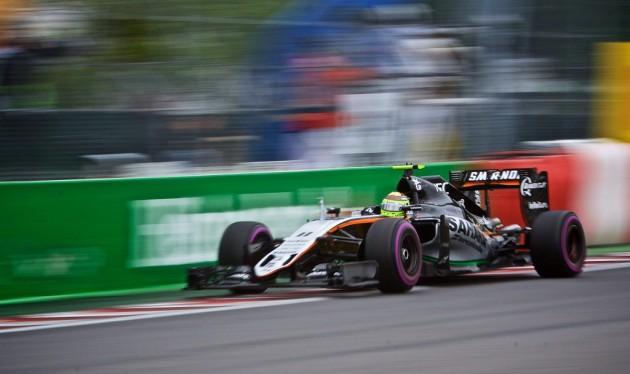 """Checo Pérez: """"Me quedé atrapado detrás de los McLaren y eso dañó mi carrera"""""""