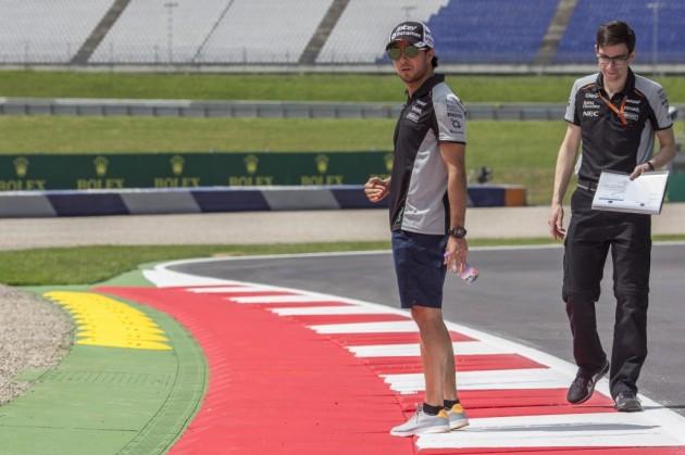 """Pérez: """"Vienen carreras complicadas para nosotros, Austria es una de ellas"""""""