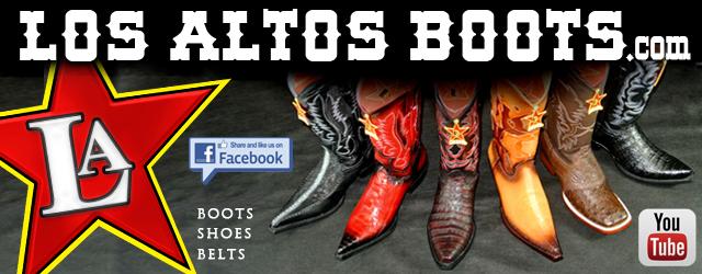 Los Altos Boots Logo de Farra Con Lupillo