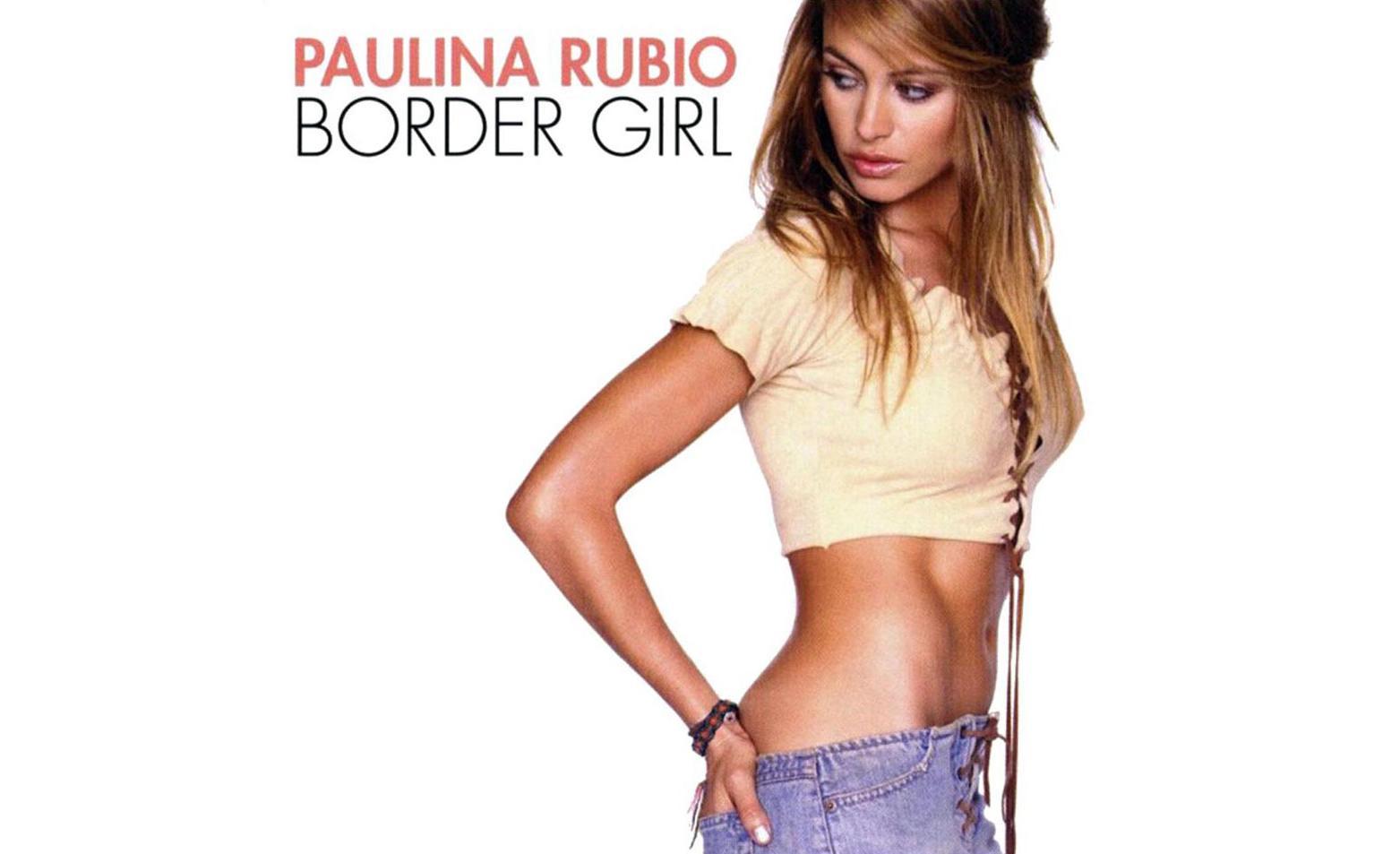 Paulina Rubio Border Girl
