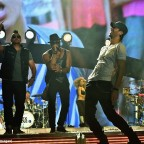 Enrique Iglesias and Pitbull Perform at Opening Night of U.S. Tour