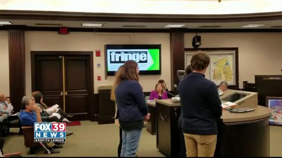 Fox 39 laredotheatre students were recognized at city council meeting